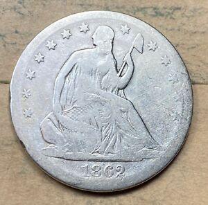 1862-S Seated Liberty Half Dollar