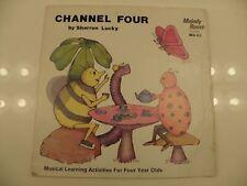 Sharron Lucky Channel Four Lp Record Album Musical Learning Activities RAP HEAR