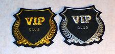 Vip Club Member Blazer Jacket Robe Sale Bar Hotel Resort Patch Uniform Service