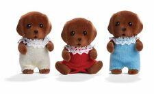 Calico Critters - Chocolate Labrador Triplets CC1452 - New in Box