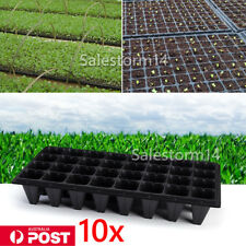 10x 32 Cell Seedling Starter Tray Seed Germination Garden Plant Propagation Pots