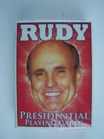 Rudy Guliani 2008 Presidential Playing Poker Cards New Sealed