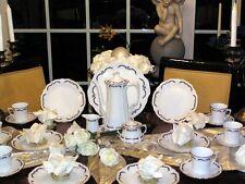 edles Kaffeeservice Hutschenreuther Tirschenreuth Baronesse Gloriette 12 Pers.