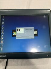 Micros Workstation 5A Ws5A Pos Terminal 400814-101J Touch Screen With Stand