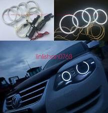 4x Excellent CCFL Angel Eyes kit Halo Ring For Volkswagen VW Touareg 2007-2010