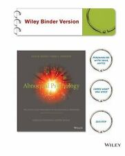 Abnormal Psychology, Binder Ready Version: The Science and Treatment of Psycholo