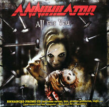 CD All for You, Annihilator,  NEW CD  JEWEL CASE