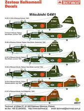 "Techmod Decals 1/48 MITSUBISHI G4M1 ""BETTY"" Japanese WWII Bomber"