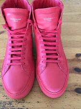 Givenchy 'Urban Knots' High Top Sneaker (Men), 43 EU 10 US, Red, $550