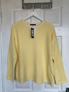 22 M/&S COLLECTION  Striped Straight Fit Sweatshirt sizes UK 14.16