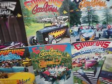Lot of 10 GOODGUYS GOODTIMES Car Magazines + 1 DRAG REVIEW 1996-1998