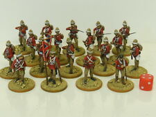 28mm British Colonial Infantry Sudan - Painted & Based  (R2)