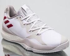 adidas Crazy Light Boost 2018 Men New White Red Basketball Sneakers AQ0007 5eca3e802