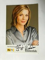 Autogramm GLYNIS BARBER-Grace Barraclough-Emmerdale-UK-original signiert-AK4