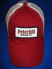1d62e32b247 PETERBILT HAT  Peterbilt Motors Co. CAP  FREE SHIPPING