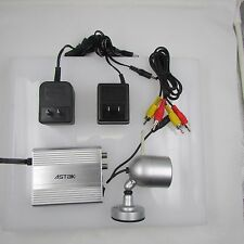 Wireless Surveillance CCD Camera with Receiver Set. Brand New