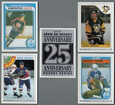 1992-93 O-Pee-Chee 25th Anniversary Insert Set 25 Rookie Replicas Plus Checklist
