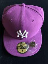 New York Yankees World Series Purple Hat Club Exclusive Size 8