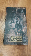 GENESIS ARCHIVE 1967-75 4CD BOX SET 1998 NICE! PETER GABRIEL RARITIES!