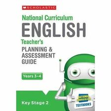 English Planning and Assessment Guide (Years 3-4) by Fiona Tomlinson (Mixed...