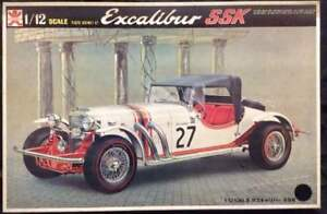 Excalibur SSK 1/12 Bandai Excaliber Plastic Model from JAPAN f/s