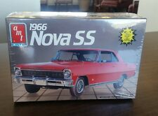 plastic model car kit 1966 Amt/Ertl Nova SS made in 1988- Factory Sealed