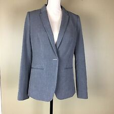 The Limited Scandal Collection Gray Pinstripe Blazer Size Small NEW With Tags(8)