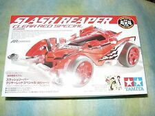 Tamiya 1/32 mini 4WD Slash Reaper Clear Red Sp. AR Chassis Model Car Kit #95009