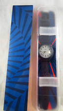 SWATCH Sistem 51 Blue Edition Limited Mint in Box SUTZ404 Hodinkee