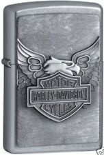 "Zippo Lighter 3D Emblem  ""Harley Davidson - Iron Eagle No 20230 HD - New"