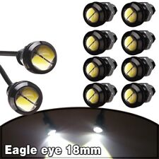 10 X 9W 18mm 12V 2 LED White LED Eagle Eye Light Car Fog DRL Daytime Reverse