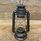 "Vintage 12"" Gray Dietz No. 20 Lamp Lantern EXCELLENT CONDITION - LOOK!"