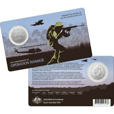 2021 50th Anniversary of The Battle of Nui Le 50c Uncirculated Coin
