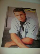 VTG 90's SuperStars Jamie Walters Pinup Dean Cain Teen Magazine Page
