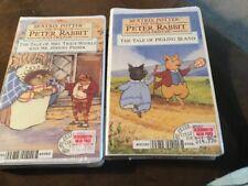 Beatrix Potter Peter Rabbit VHS Tapes