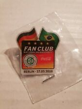 Off. PIN Fanclub DFB Deutschland Germany vs Brasilien World Cup 2018 Coca Cola