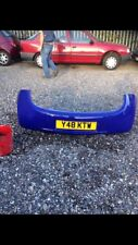 Ford Ka Rear Bumper In Ford Blue / Purple  96-08 Good Condition