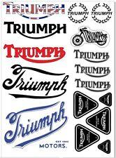 Triumph Aufkleber STICKERS  1 Satz 16 Stk.