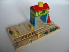 Caja de señal & paso a nivel para pista de Tren de Madera Set (Brio Thomas)