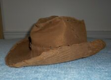 e9b67371a56 Womens GOORIN BROTHERS LEATHER HAT Brown Gold Glitter Shimmer Western Cowboy