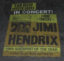 Jimi Hendrix Experience T Shirt XL New Unused Super Soft San Diego CA