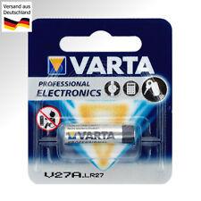 2x VARTA V27A 12 Volt Alkaline Batterie L828 LR27 LR27A 12V Battery A27S DC 4227