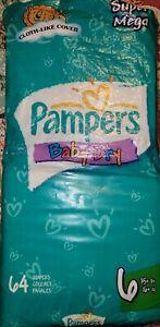Vintage Pampers Diapers (full print set 10 diapers)