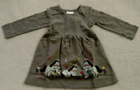 NWT Hanna Andersson Unicorn Applique Art Girls Dress