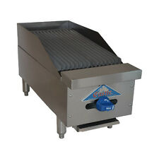 """Comstock Castle 3212Rb 12"""" Countertop Gas Charbroiler"""