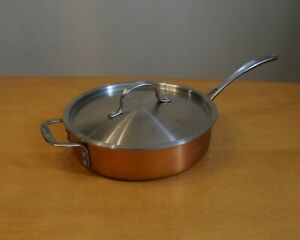 Calphalon Try-Ply Copper  2 qt. Saute Pan 5003 with Lid