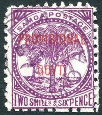 SAMOA-1899-1900 Provisional Government 2/6 Reddish Purple Sg 97 GOOD USED V27250