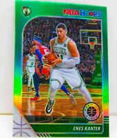 Enes Kanter 2019-20 NBA Hoops Premium Stock Green Prizm Card #164 Boston Celtics