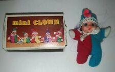 Mini Clown tipo Fiammiferino, originale anni 70