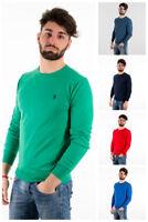 Maglione cotone U. S. Polo Assn. maglioncino uomo primavera 38335